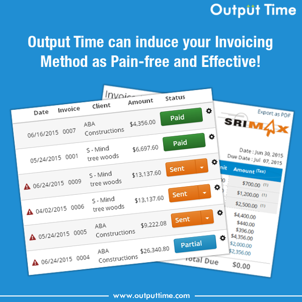 Invoice - Output Time