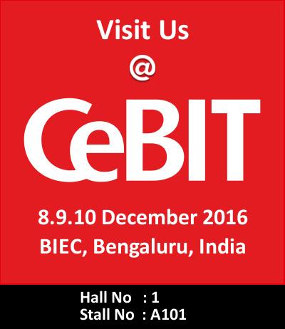 Meet Srimax Output Apps at CeBIT 2016, Bengaluru